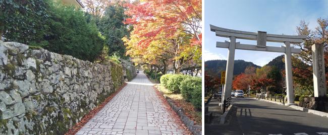 比叡山坂本駅周辺散策